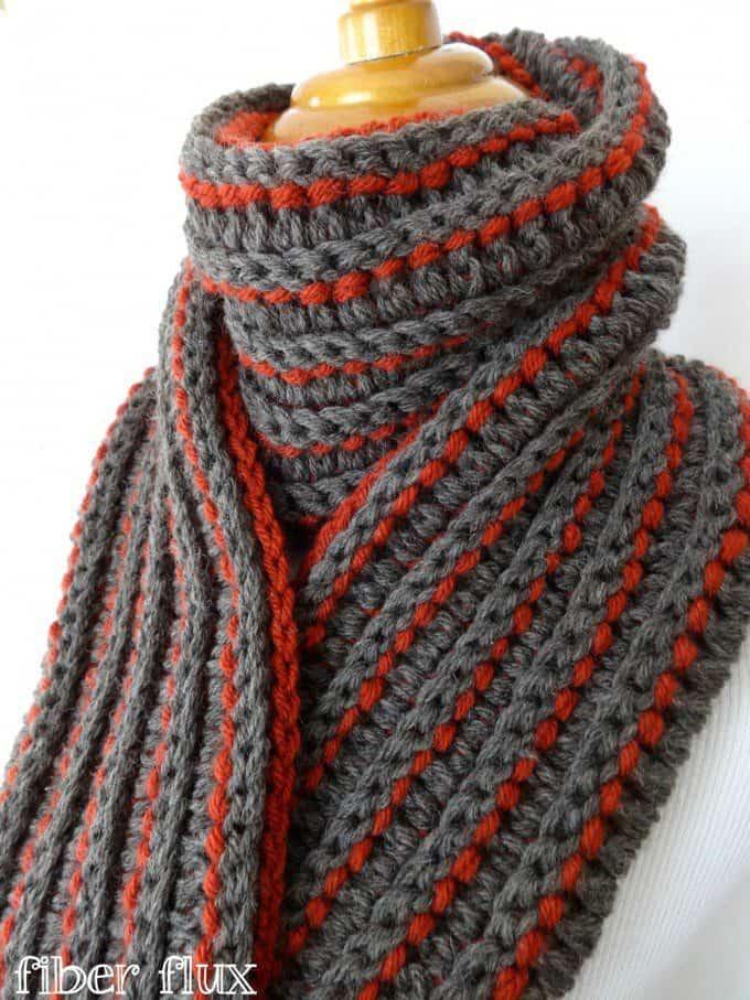 Kleurrijke Sjaals Haken Met Gratis Patronen Hobbyblogonl