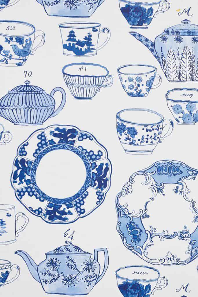 Delfts blauw impressie om creatief mee om te gaan