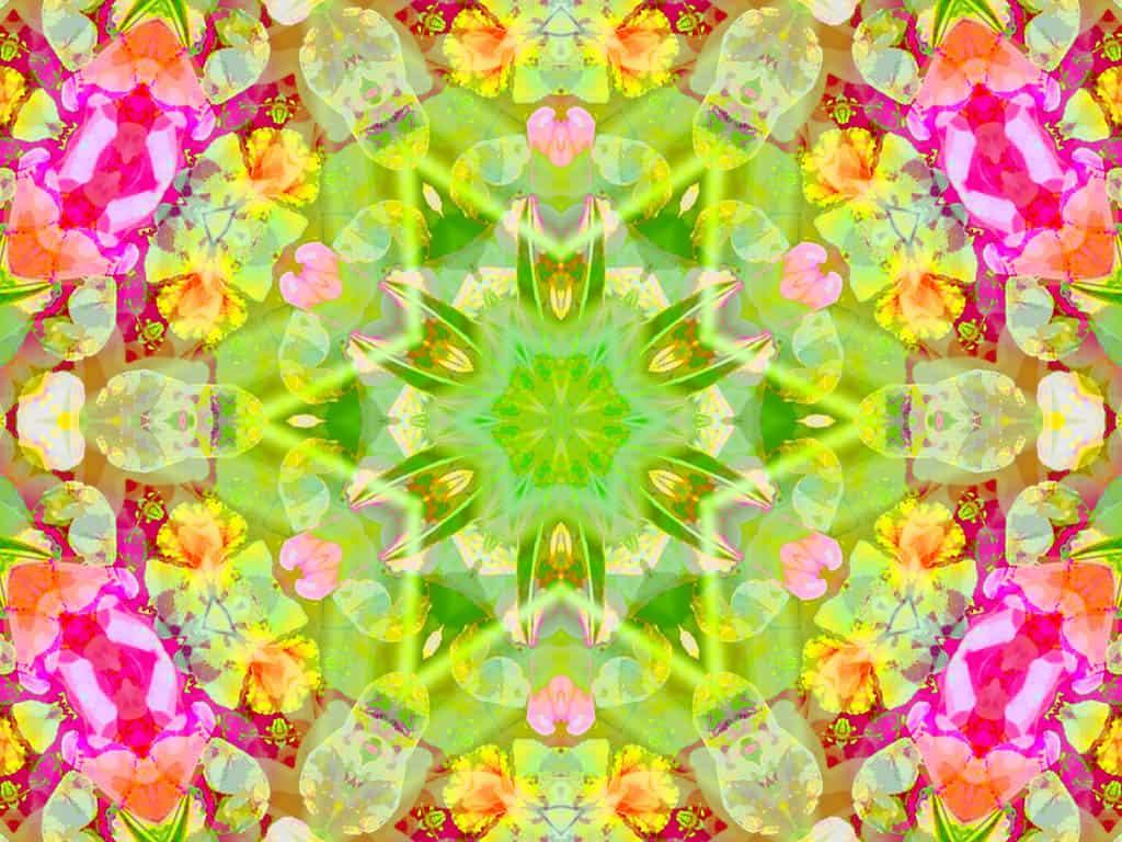 Kleurplaten Kerst Mandala en digitaal mandala kleuren / BRON: wallpaperpin.com