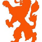 Oranje toverstok bij voetbal wedstrijden
