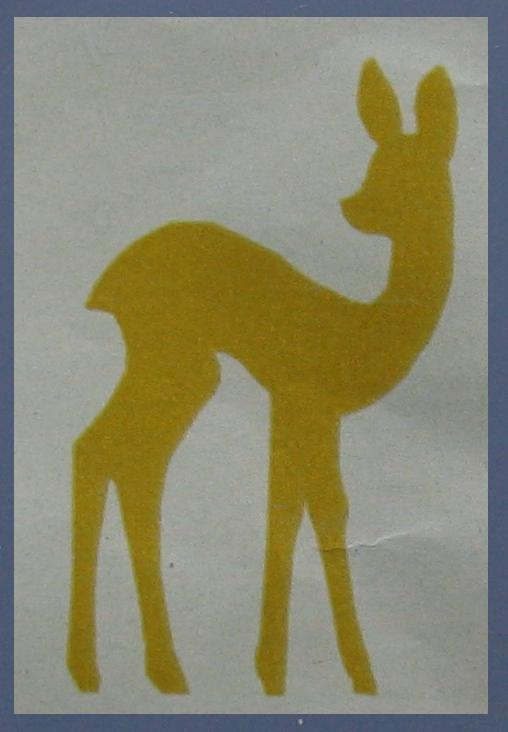 silhouette Bambi