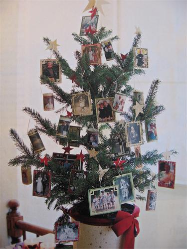 kerstboom optuigen als familieboom