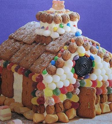 Snoephuisje en heksenhuisje zelf maken for Huis maken surprise