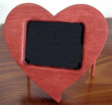 Hart fotolijst zelf maken van hout for Zelf meubels maken van hout