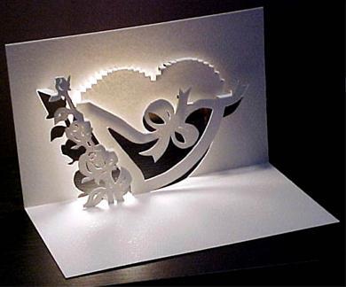 Wonderbaarlijk Zelf kaart maken voor Valentijnsdag - Hobby.blogo.nl AA-97