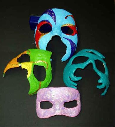 Hoe Venetiaans masker maken voor Carnaval