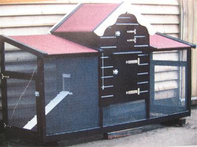 Kippenhok of buitenverblijf bouwen in de tuin