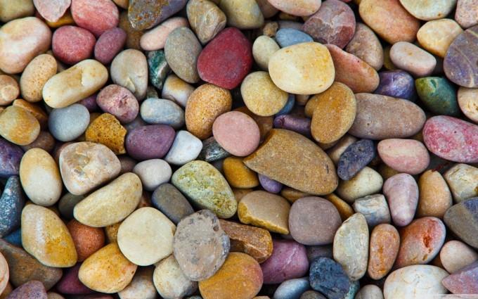 Kiezel mozaiek in de tuin hobby o