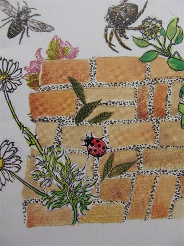 hoe plantenmuurtje maken in de tuin