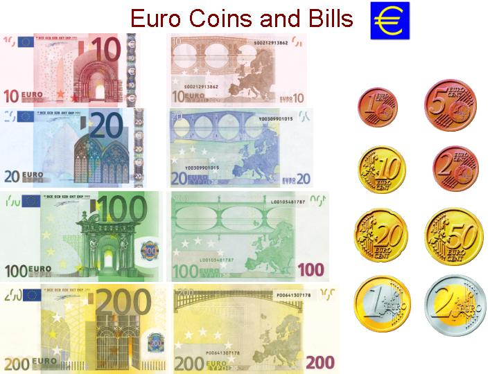 currency coloring pages french euro - photo#17
