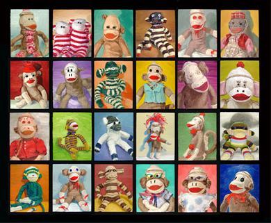 Extreem Aap maken van een paar sokken - Hobby.blogo.nl #MW79