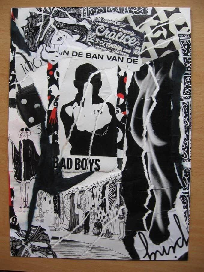 BAD BOYS 2005 collage ellen figee