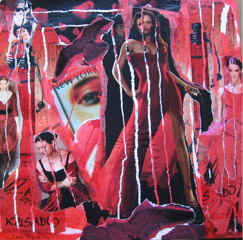 RED 2005 collage ellenfigee