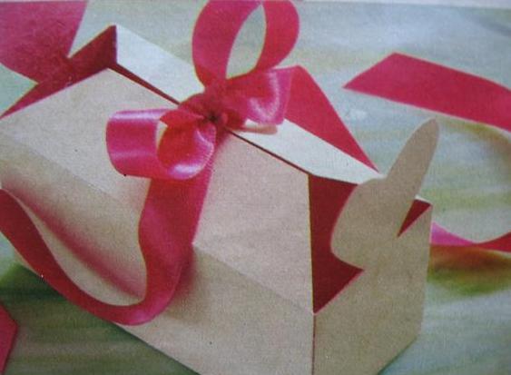 Bonbon doosje zelf maken met bouwplaat