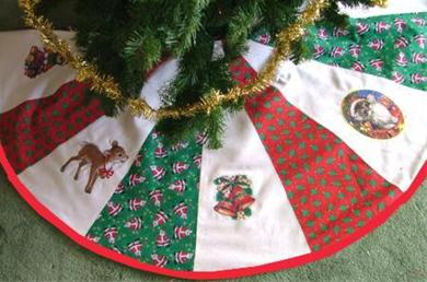 Kerstboomkleed Rond Zelf Maken Hobbyblogonl