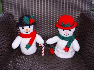 Sneeuwpop Breipatroon Breien Hobbyblogonl