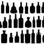 Lege flessen decoreren
