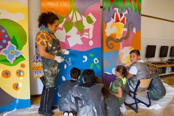 Project muurschilderen