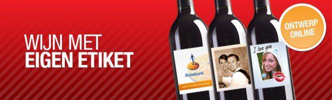 wijn en etiket zelf ontwerpen