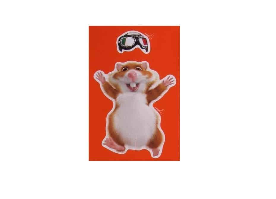 bouwplaat hamster op scooter hobby blogo nl