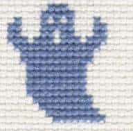 borduurpatroon spook