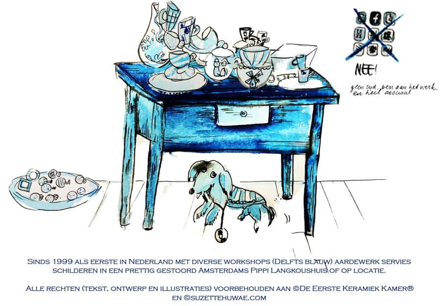 workshop delfts blauw schilderen
