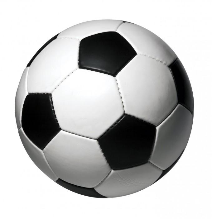 Voetbal knutselen of breien of haken