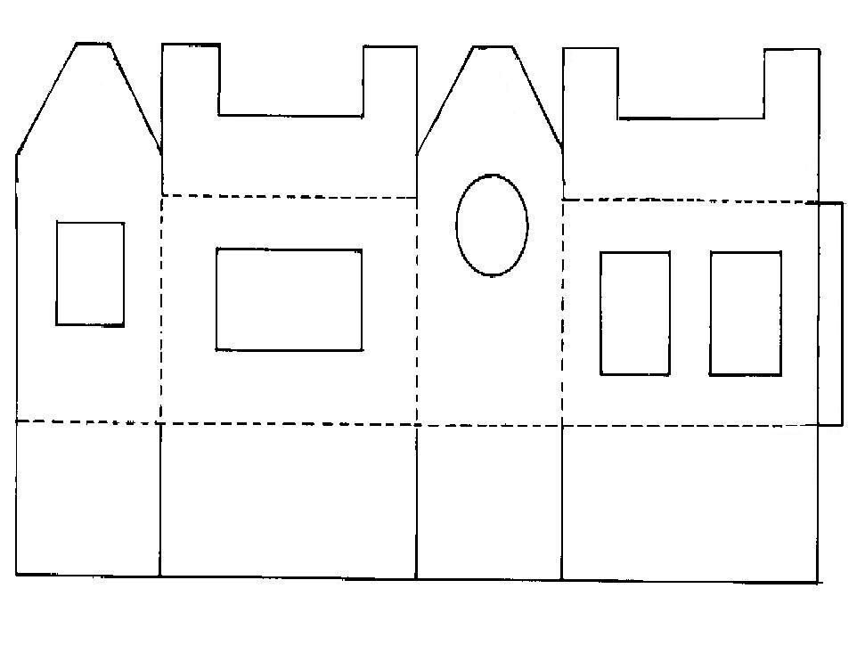 Sinterklaas Kleurplaat Huisjes Knutselen Met Weggooi Materialen Hobby Blogo Nl