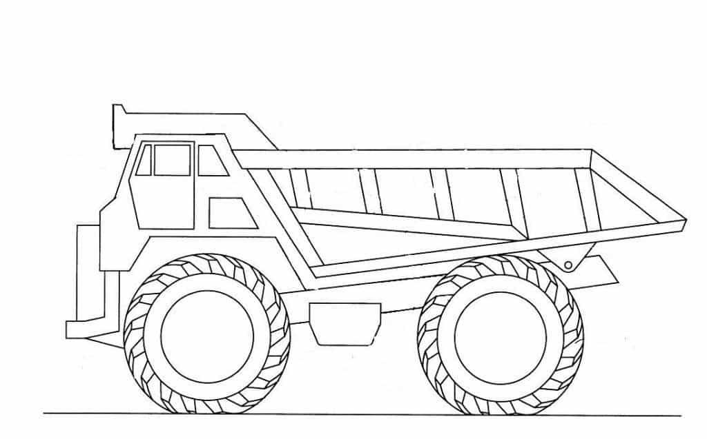 Vrachtwagen knipplaat