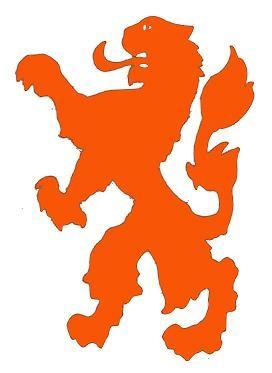 Kleurplaten Leeuwenkop.Oranje Toverstok Bij Voetbal Wedstrijden Hobby Blogo Nl