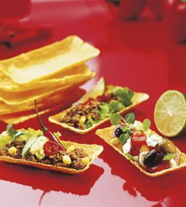 Eetbare bakjes heten Taco Tubs en zijn super handig