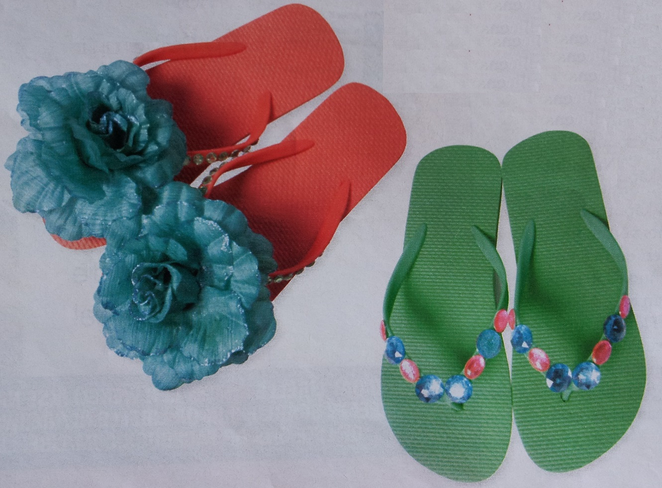 Bron: libelle.be/creatief/slippers-pimpen