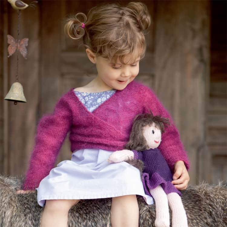 Gratis breipatroon pop en kleertjes breien