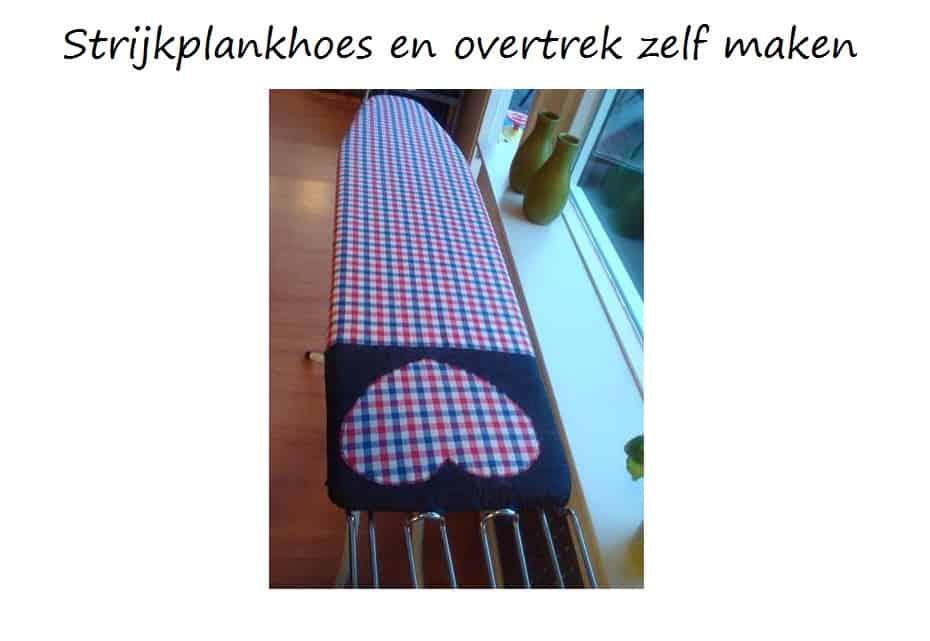 strijkplankhoes en overtrek maken