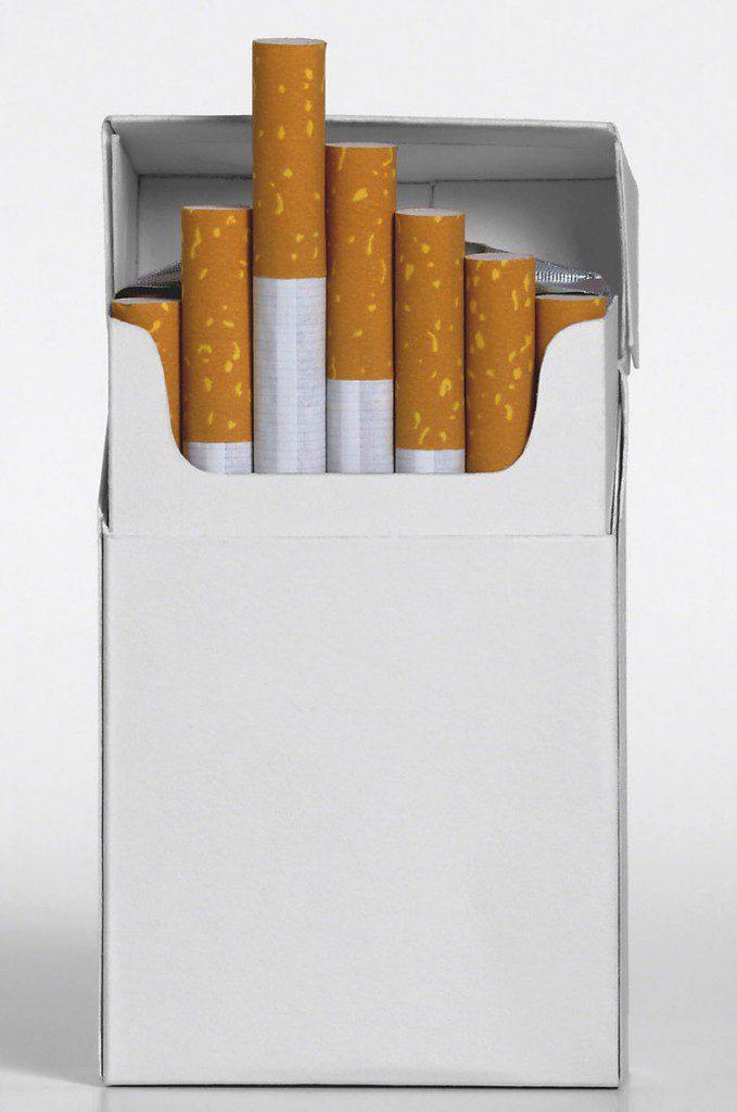 Sigarettendoos als sinterklaas surprise