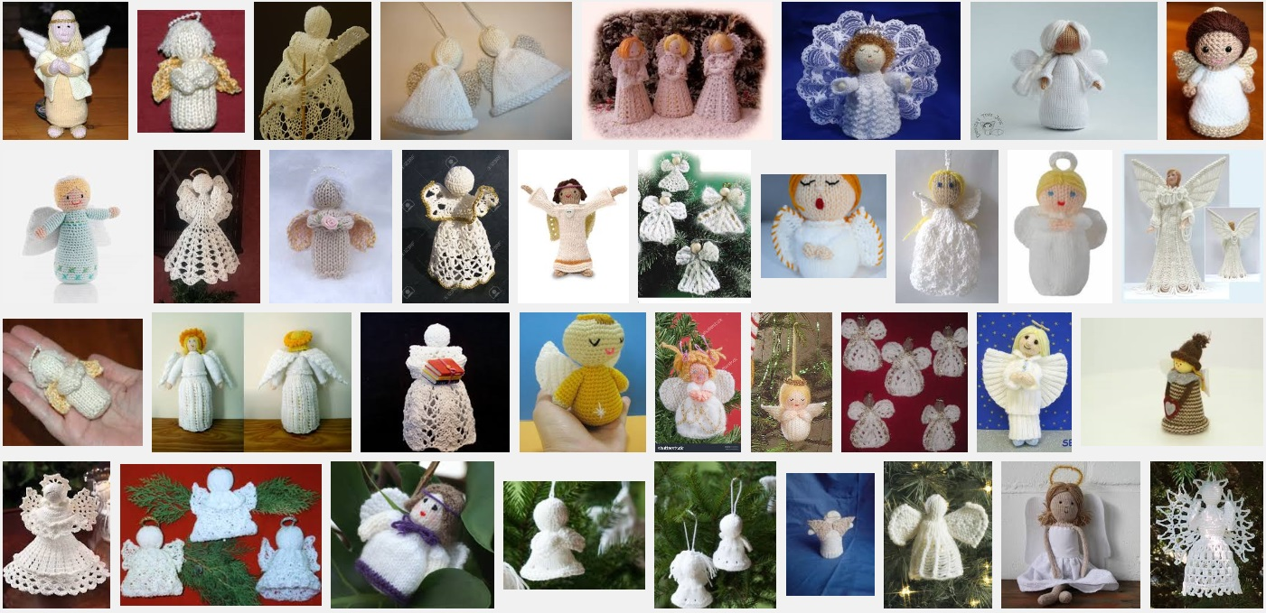 Engeltje Breien Voor In De Kerstboom Hobbyblogonl