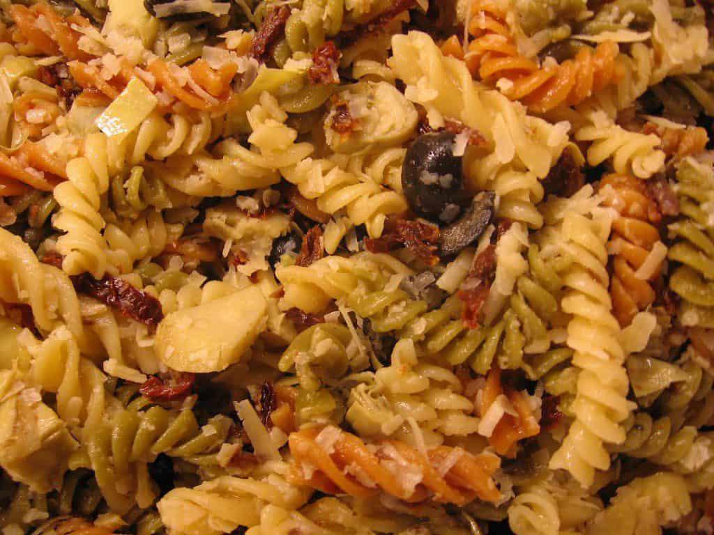 Recept pastasalade snel en lekker