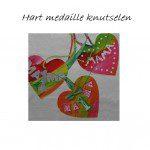 Hart medaille knutselen