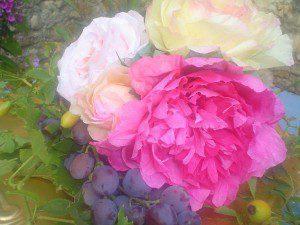 rozen pioenrozen van papier maken