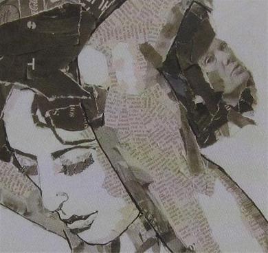 Kunst Met Kranten Foto S En Knipsels Hobby Blogo Nl