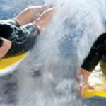 Indoor surfen, flow- en bodyboarden