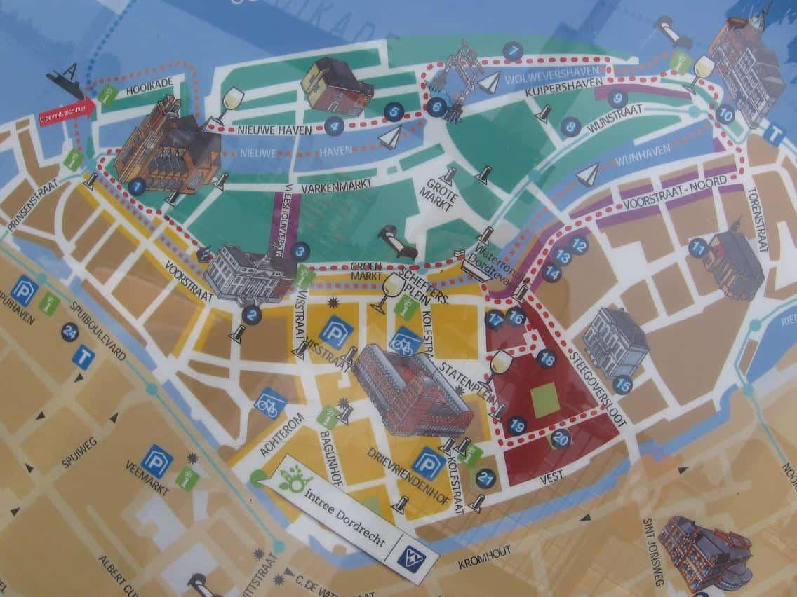 stadswandeling wandelen Dordrecht