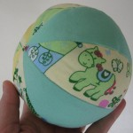 Patroon kleine bal voor baby en peuter