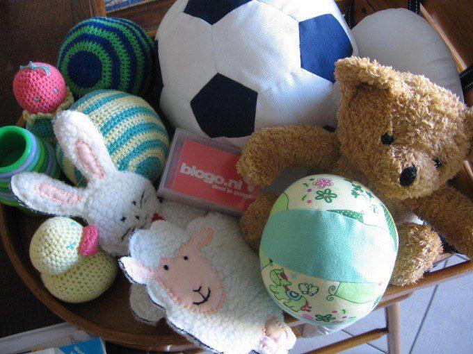 patroon bal baby peuter speelgoed