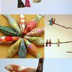 Patroon decoratie vogel uniek idee