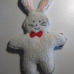 Patroon knuffel konijn naaien en borduren