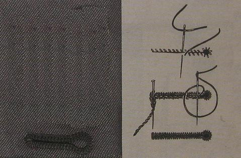 Knoopsgaten naaien met de hand doe je zo