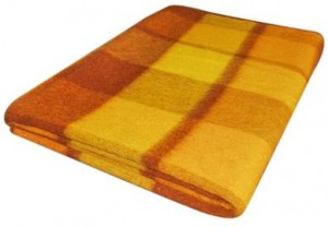 oude wollen deken