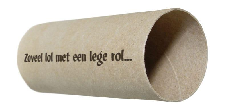 Knutselen met lege WC rolletjes
