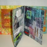 Textiel collage maken met inspiratie